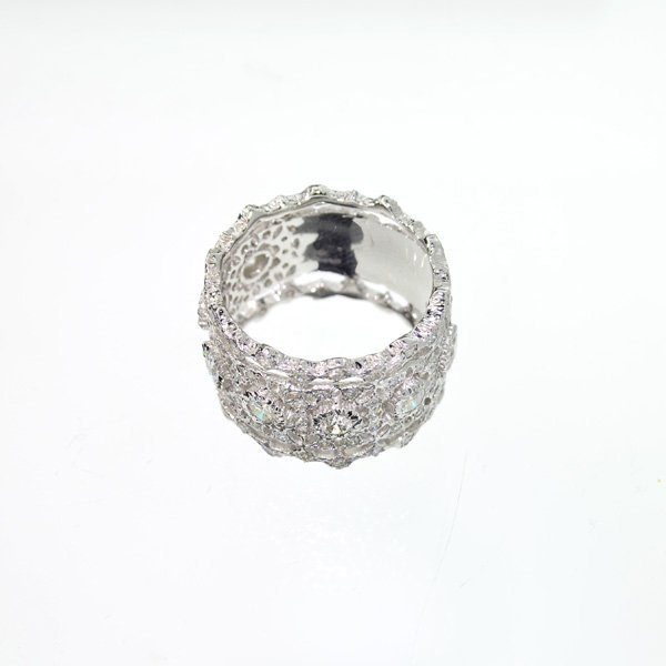 APP: 6k 14kt White Gold, 1.10CT Round Cut Diamond Ring
