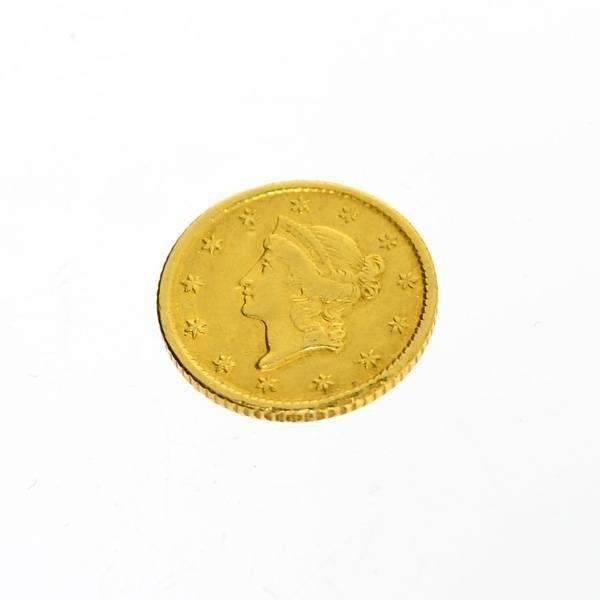 1851 U.S. $1 Liberty Head Gold  Coin - Investment