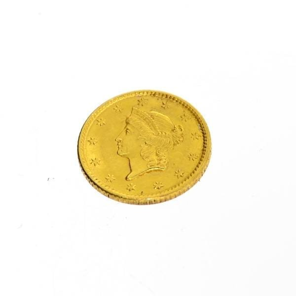 1852 U.S $1 Liberty Head Gold Coin - Investment