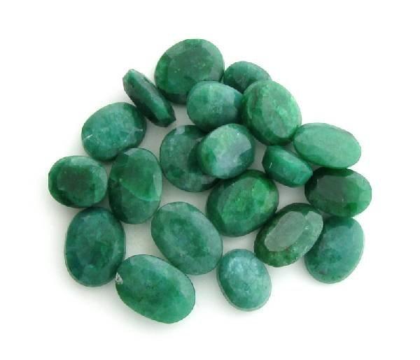 APP: 14.3k 104.05CT Mixed Cut Emerald Parcel