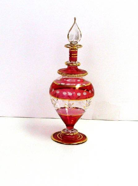 Red Perfume Bottle