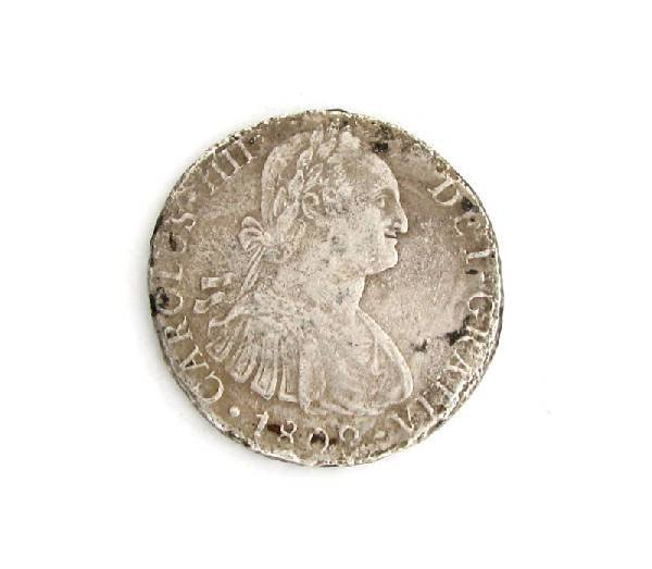 1809 Eight Reales First Silver Dollar Coin - Investment