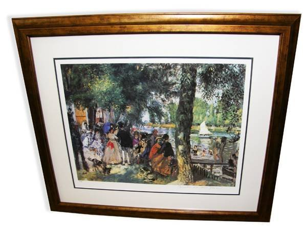 Renoir-Limited Edition Numbered Museum Framed-Numbered