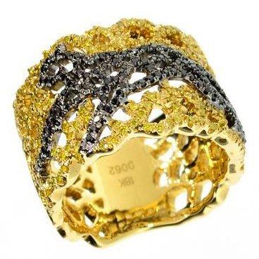 APP: 14k 18kt Gold, 0k Diamond Ring