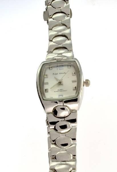 Ralph Valentin (Silver Color Square) Women's Watch