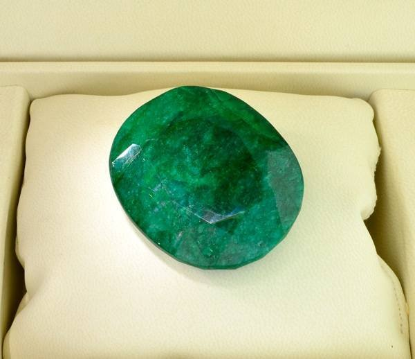 APP: 77.5k 387.45CT Oval Cut Emerald Gemstone