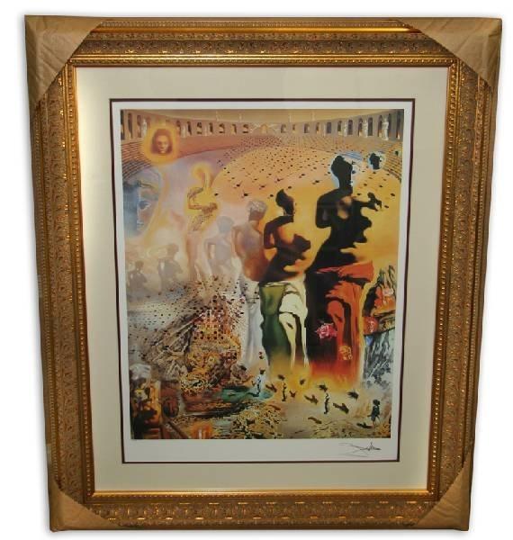 Salvador Dali 'The Hallucinogenic Toreador'  Framed