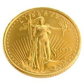 1999 US $5 Saint Gaudens Gold Coin - Investment