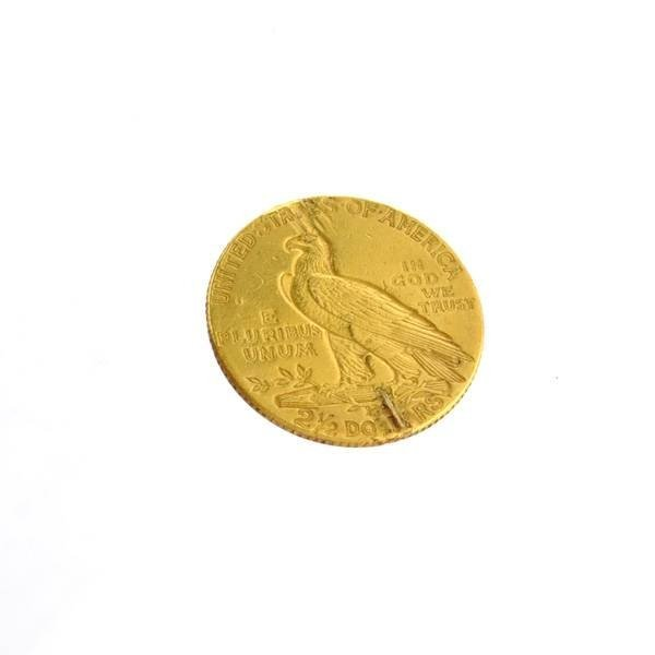 1926  $2.5 U.S. Indian Head Gold Coin - Investment - 2