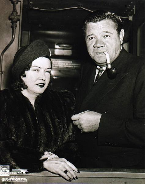 Babe Ruth Retired - Babe & Claire