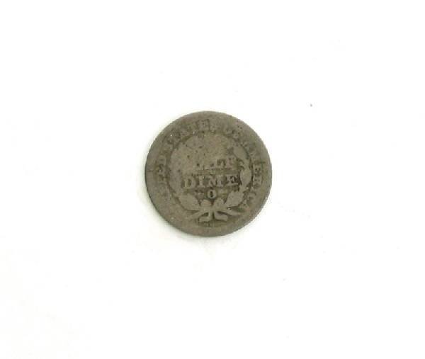 1850-O U.S. Seated Liberty Half Dime Coin - Investment