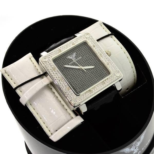 Diamond King Men's Stainless Steel & Diamond Watch
