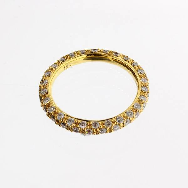 APP: 6k 18 kt. Yellow Gold, & 1.30CT Diamond Ring