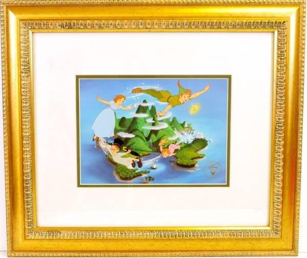 "Disney Serigraph Cel ""Peter Pan"" Museum Framed Ltd. Edn"