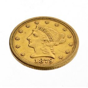 1879-S $2.5 US Liberty Head Type Gold Coin - Investment