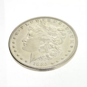 1885 U.S. Morgan Silver Dollar Coin - Investment