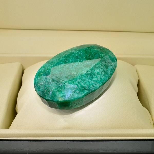 APP: 33k 611.25CT Oval Cut Emerald Gemstone