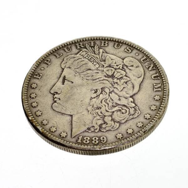 1889 U.S. Morgan Silver Dollar Coin - Investment