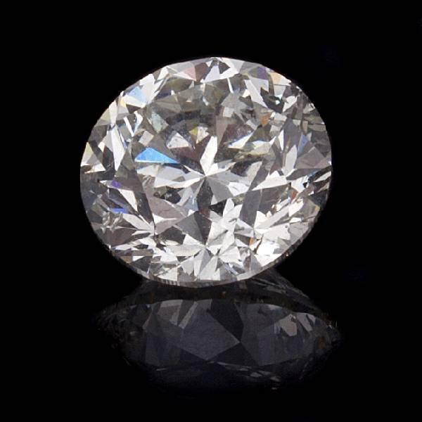 APP: 68.2k 3.03CT Round Cut Diamond Gemstone