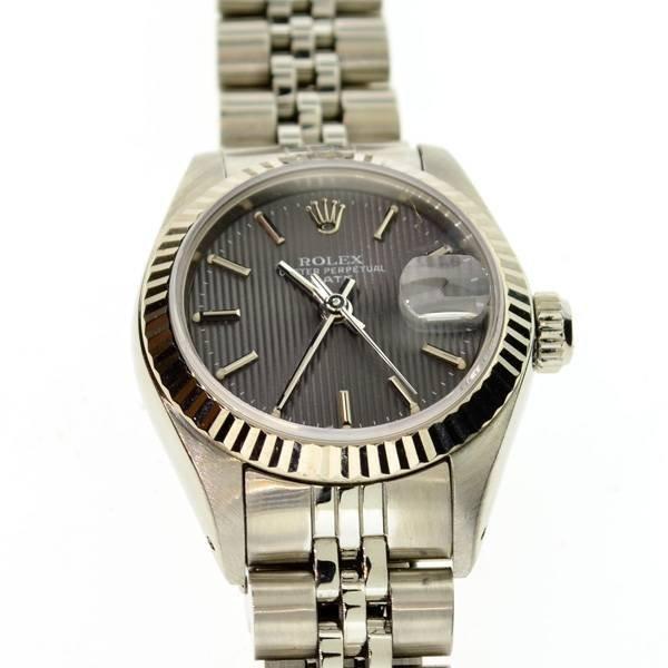 APP: 5k Rolex Women's Model 69174 Stainless Steel Watch
