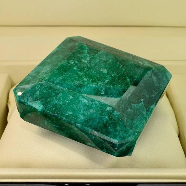 APP: 47.8k 1,364.40CT Square Cut Emerald Gemstone
