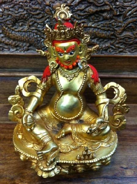 Asian Gold-Plated Buddha Statue