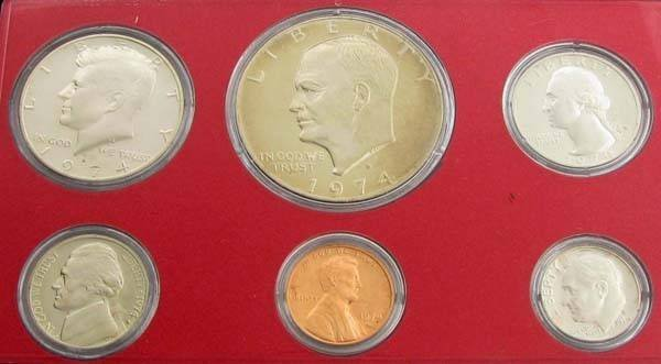 1974 United States Proof Set Coin - Investment