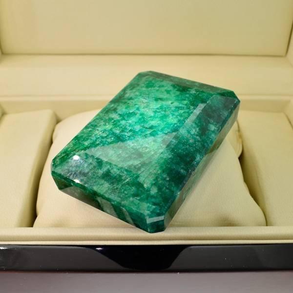 APP: 43.6k 1,245.55CT Emerald Cut Emerald Gemstone
