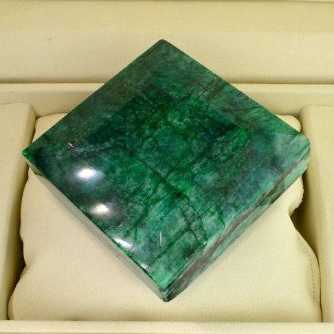 APP: 55.8k 1,593.15CT Emerald Gemstone