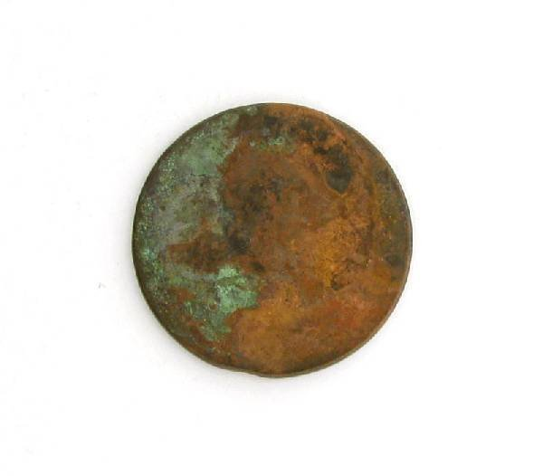 1830 Busted Liberty One Cent Coin - Investment