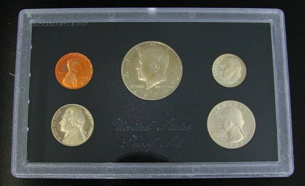 1983 U.S. Proof Set Coin - Investment