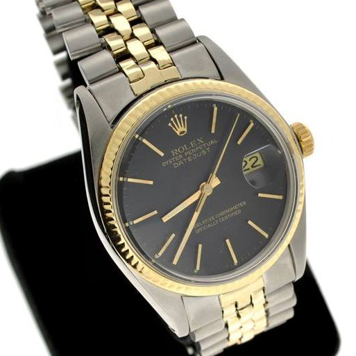 Rolex Men's Oyster Perpetual Steel & Gold Watch