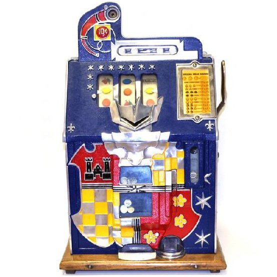 10 Cent Front Castle Slot Machine