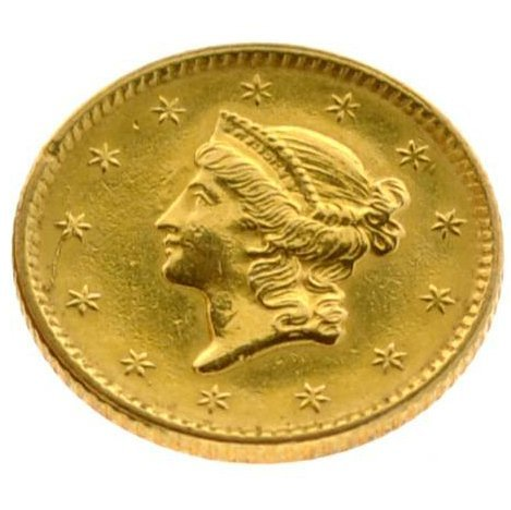1851 Liberty Head Type Gold Coin - Investment