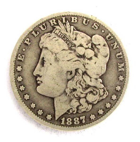 1887-O U.S. Morgan Silver Dollar Coin - Investment