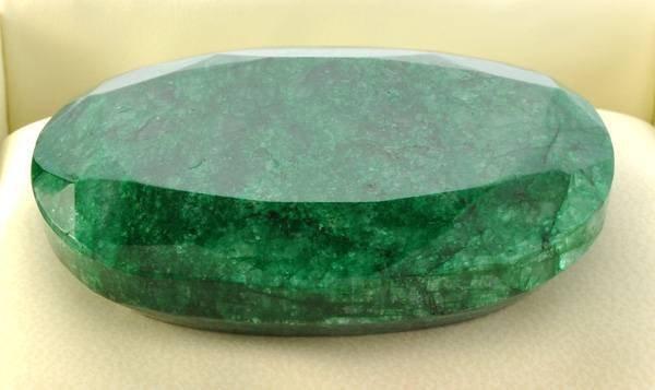 APP: 54.9k 522.70CT Oval Cut Emerald Gemstone