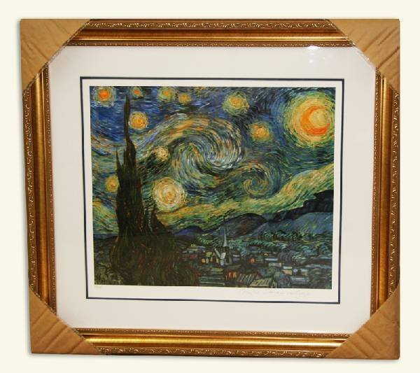 Van Gogh-Limited Edition Museum Framed Print-Numbered