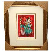 Chagall Carmen Museum Framed GicleeLimited Edition