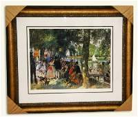 RenoirLimited Edition Numbered Museum FramedNumbered