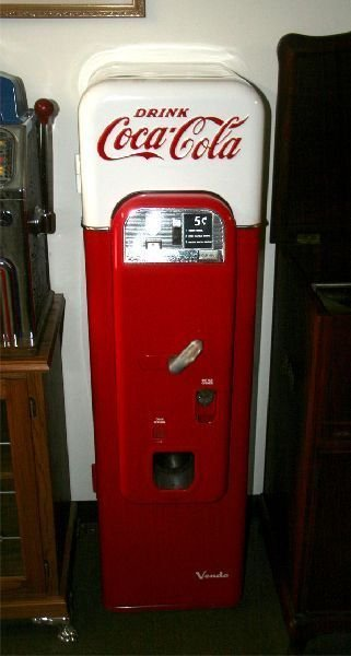 Antique Model 44 Coke Machine -P-