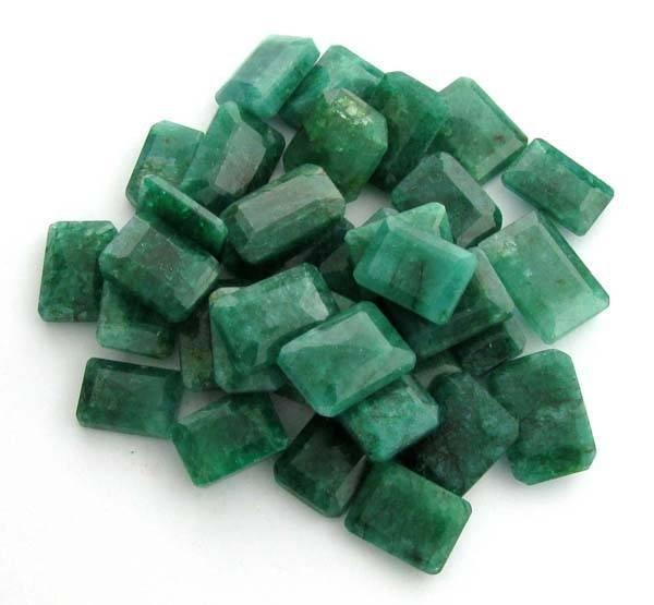 APP: 59k 251.00CT Emerald Cut Emerald Parcel