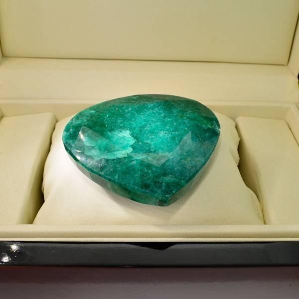APP: 41k 759.25CT Pear Cut Emerald Gemstone