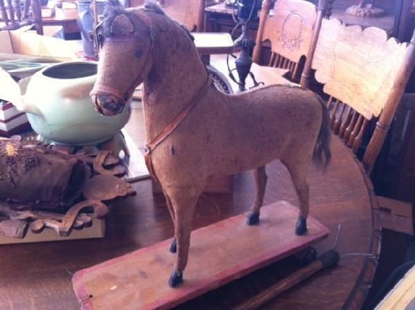 Antique Toy Horse - circa 1855