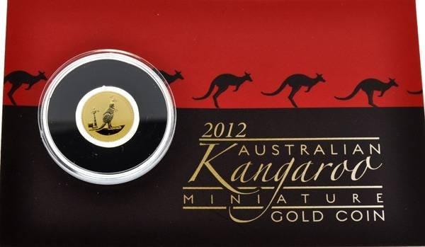 2012 Australian Kangaroo 999 Gold Coin - Investment