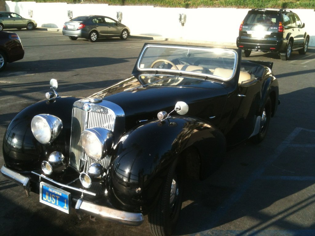 1949 Triumph Roadster TR 2000 - Pick Up Only - 4