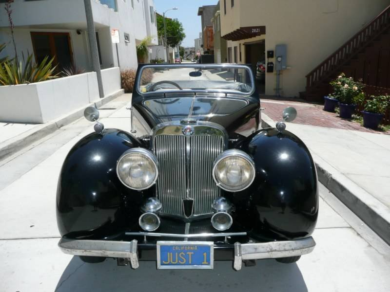 1949 Triumph Roadster TR 2000 - Pick Up Only - 8