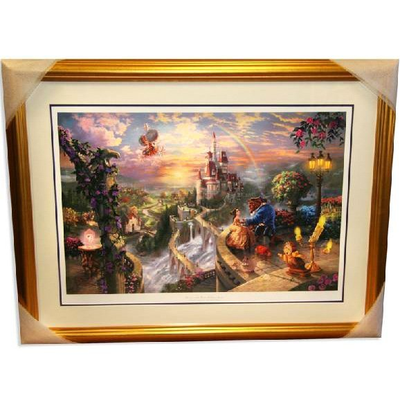 "Thomas Kinkaid - Signed ""Beauty & the Beast"" Rare"