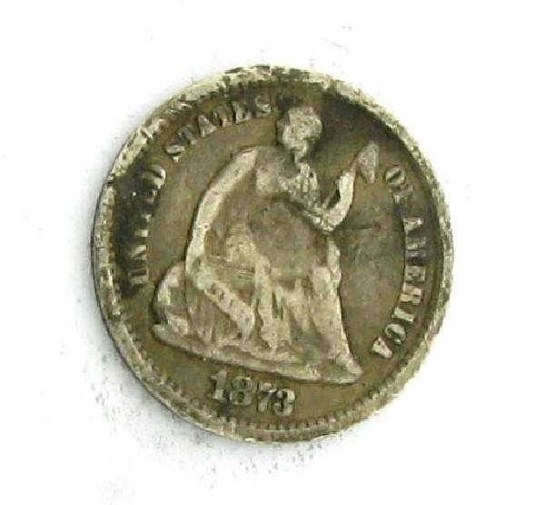 Liberty Seated Half Dime Coin - Investment