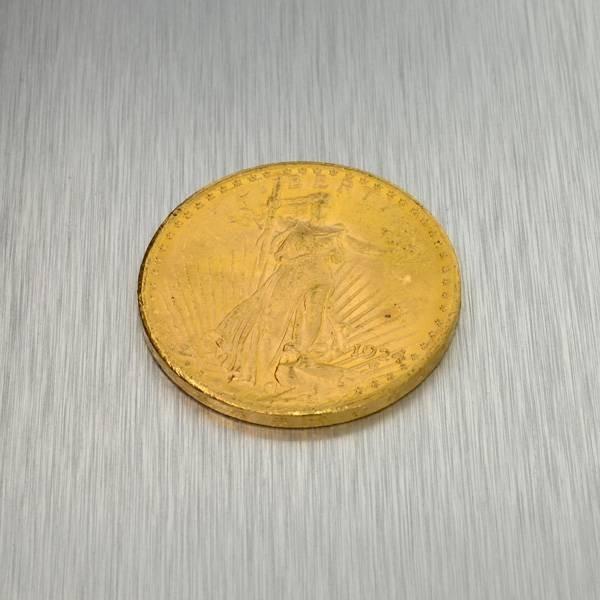 1924 $20 U.S. Saint Gaudens Head Gold Coin - Investment