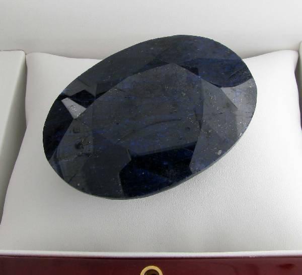 APP: 25.4k 846.25CT Oval Cut Blue Sapphire Gemstone